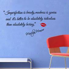 Marilyn Monroe Wall Decor Marilyn Monroe Quotes Decals Stickers U0026 Vinyl Art Ebay