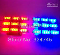 Led Emergency Dash Lights 54 Led Emergency Vehicle Strobe Lights Lightbars Deck Dash Grille
