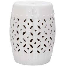 Ceramic Side Table Safavieh Outdoor Side Tables Patio Tables The Home Depot