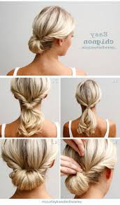 Easy Updo Hairstyles For Thin Hair by Cute Updo Hairstyles For Work 1000 Images About Hair Styles At