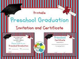 preschool graduation invitations preschool graduation invitation certificate by apples to applique