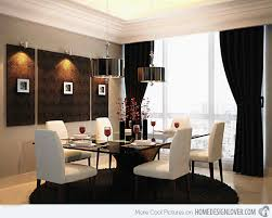 Gorgeous Black And White Dining Areas For Your Home Home - Dining room area