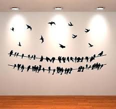 Birds For Wall Decor Bird A Wire Wall Decor Tar Flying Birds