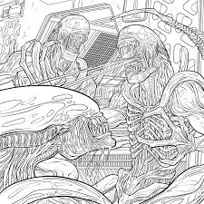 download exclusive u0027alien u0027 coloring book pages bloody