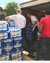 fareway donates 2 000 bottles of water to hurricane harvey victims