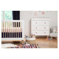 babyletto lolly 3 in 1 convertible crib with toddler rail target