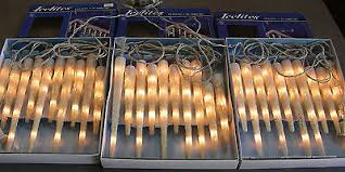 3 sets kurt s adler icelites vintage 10 icicle lights 12 8