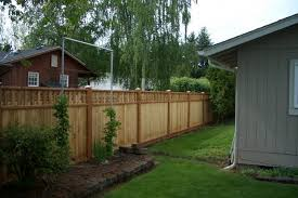 Fence Ideas For Small Backyard Download Back Yard Fence Ideas Garden Design