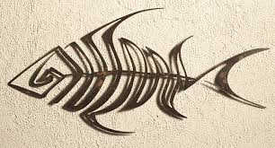 wall designs metal fish wall bone fish wall outdoor