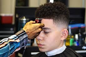 haircut how to do a drop fade curl sponge hd youtube