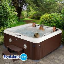 evolution spas safari 24 jet 6 person spa