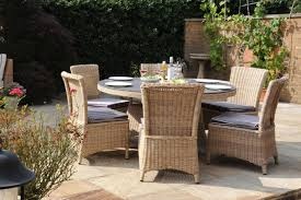 Auckland All Weather Cm Round Dining Daro Cane Furniture - Round dining table with wicker chairs