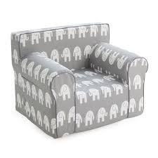 here and there kids chair gray elephant hayneedle