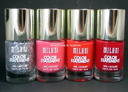 color block nail art with milani color statement adventures in