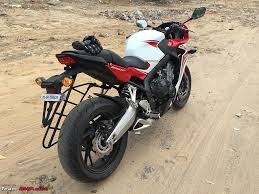 cbr bike on road price a dream come true my honda cbr650f edit 4th service update on