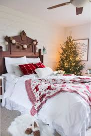 261 best christmas bedrooms images on pinterest christmas ideas