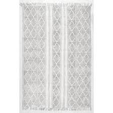 Off White Area Rugs by Nuloom Olvera Off White 5 Ft X 8 Ft Area Rug Rach07a 508 The