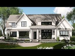 farmhouse plan architectural designs modern farmhouse plan 14662rk tour