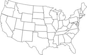 united states map black and white black and white u s map clip at clker com vector clip