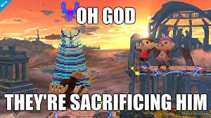 the villagers sacrifice donkey kong by jxbermudez27 on deviantart
