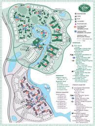 Treehouse Villas At Disney World - map of saratoga springs resort treehouse villas my blog
