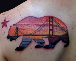 best 25 california bear tattoos ideas on pinterest bear tattoos