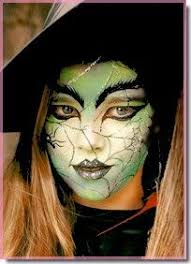 face paint theatrical make up hair accessories witch make up