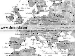 World Map Hungary by Personalized Printable World Map Grayscale Watercolor U2013 Blursbyai