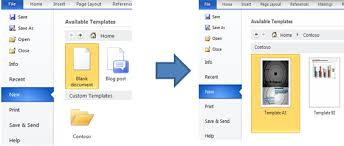 deploy custom templates in microsoft office u2013 microsoft office