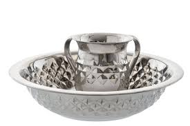 netilat yadayim cup stainless steel diamond design netilat yadayim wash cup and bowl set