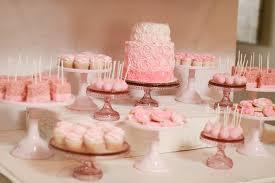 Baby Shower Table - bake shop baby shower dessert table jenny cookies dressert