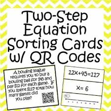 12 best two step equations images on pinterest middle