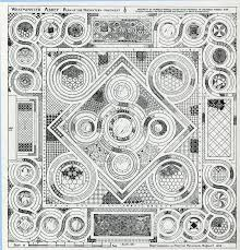 floor plan of westminster abbey cosmati pavement recording the project