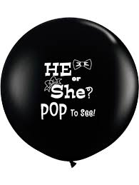 gender reveal balloons 3 gender reveal confetti balloon