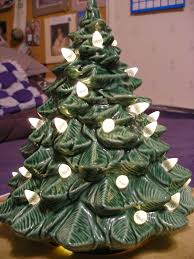 paper ponies vintage ceramic christmas tree makeover