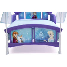 Frozen Canopy Bed Delta Children Disney Frozen Toddler Canopy Bed Walmart About