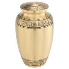 urn for ashes coronet gold cremation urn for ashes