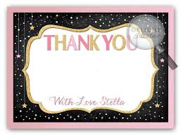 baby shower thank you cards twinkle twinkle baby shower thank you cards di 4542ty