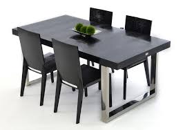 black lacquer dining room chairs black lacquer modern dining table