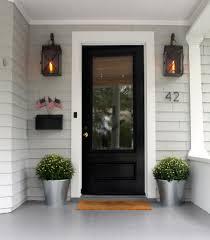 simple is often better door trims door opener and front doors
