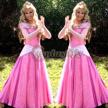 Sleeping Beauty Halloween Costume Custom Pink Sleeping Beauty Dress Princess Dress Cosplay
