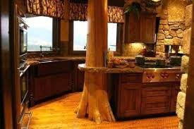 Rustic Pine Kitchen Cabinets by Rustic Kitchen Curtains U2013 Teawing Co