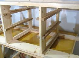 Ideas For Workbench With Drawers Design Adding Drawers To Workbench Woodshop Pinterest Drawers