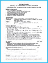 Unix Developer Resume How Professional Database Developer Resume Must Be Written