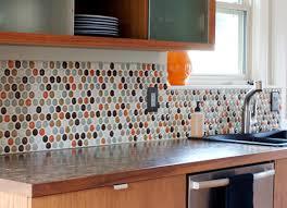glass tile backsplash kitchen loft cream polished glass tiles
