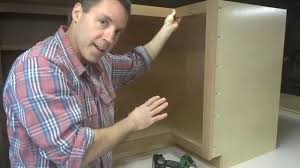 kitchen cabinets installing the lazy susan hardware youtube