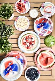 fun and easy watermelon pizza bar lovely lucky life