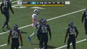 Carolina Panthers Flags Madden 17 Full Game Gameplay Seattle Seahawks Vs Carolina