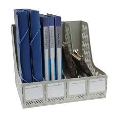 boite de rangement papier bureau boîte de rangement document panier de dossier pour bureau étagère de