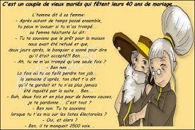 anniversaire de mariage - 40 Ans De Mariage Humour